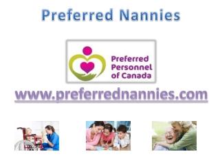 Trusted Edmonton Nannies Services