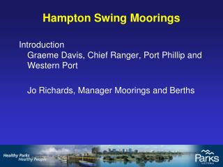 Hampton Swing Moorings