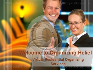 Welcome to Organizing Relief