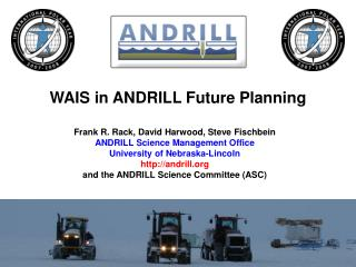 WAIS in ANDRILL Future Planning