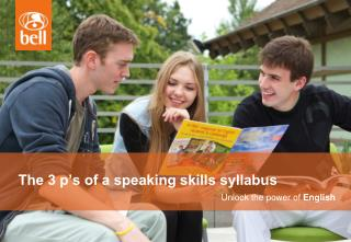 The 3 p's of a speaking skills syllabus