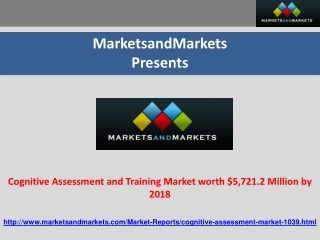 Cognitive Assessment and Training Market