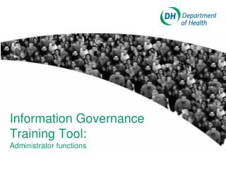 Information Governance Training Tool: