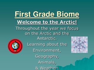 First Grade Biome