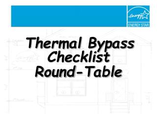 Thermal Bypass Checklist  Round-Table