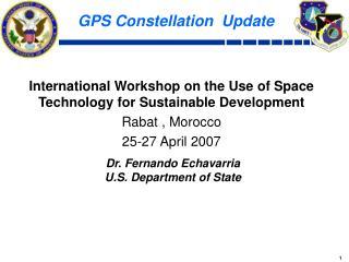 GPS Constellation Update