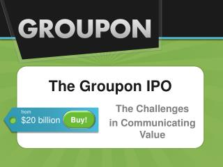 The Groupon IPO