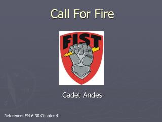 Call For Fire