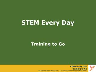 STEM Every Day