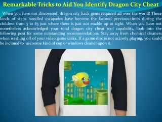 Remarkable Tricks to Aid You Identify Dragon City Cheat