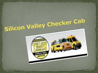 Silicon Valley Checker Cab