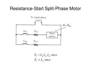 Resistance-Start Split-Phase Motor