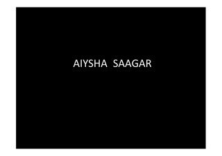 Australian Starlet Pop Singer Aiysha Saagar