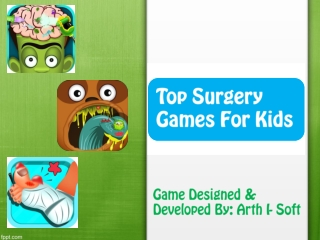 Top Surgery Game for Kids