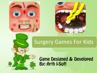 Surgery Games for Kids Developed By GameiMax