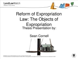 Reform of Expropriation Law: The Objects of Expropriation
