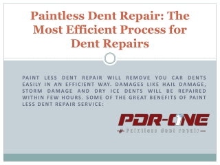 Car door ding repair Riverside CA