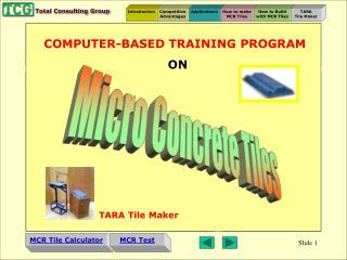 Micro Concrete Tiles