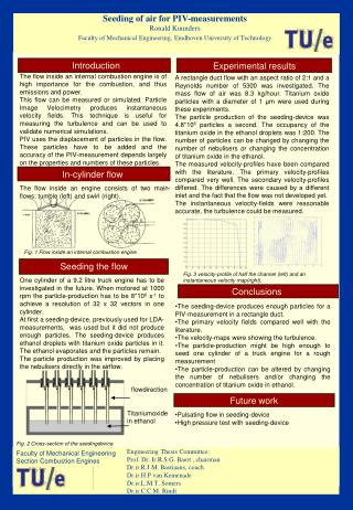 Faculty of Mechanical Engineering Section Combustion Engines