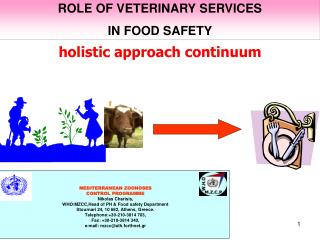 ROLE OF VETERINARY SERVICES  IN FOOD SAFETY