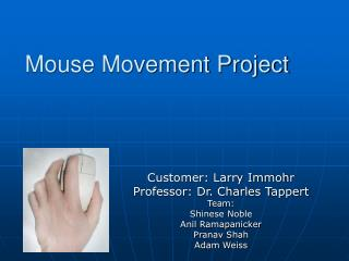 Mouse Movement Project