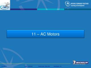 11 – AC Motors