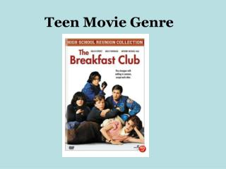 Teen Movie Genre