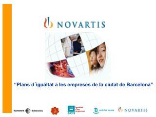 """""""Plans d´igualtat a les empreses de la ciutat de Barcelona"""""""
