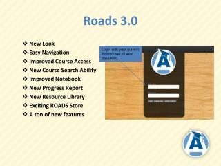 Roads 3.0