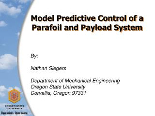 Model Predictive Control of a  Parafoil and Payload System