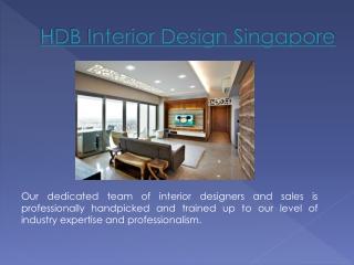 HDB Renovation Singapore