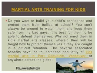 Kids Martial Arts Maple Ridge