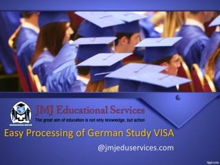 Easy Processing of German study VISA