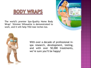 Home Body Wraps