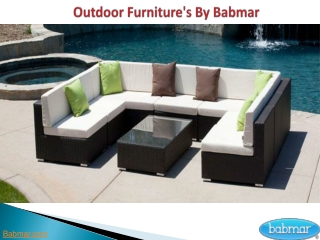 Modern Outdoor Furniture By Babamr