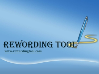 rewordingtool.com