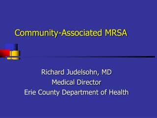 Community-Associated MRSA