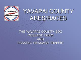 YAVAPAI COUNTY ARES/RACES