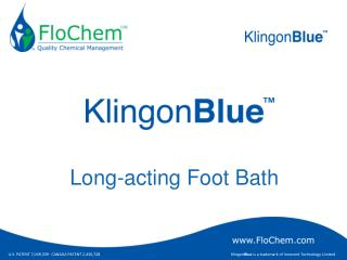 Long-acting Foot Bath