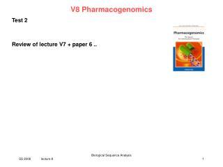 V8 Pharmacogenomics