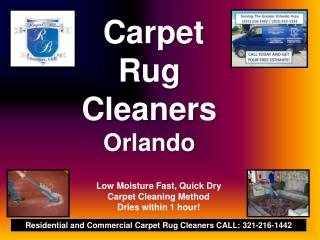 Discount Carpet Rug Cleaner 321-216-1442 Sanford