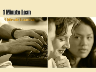 1 Minute Loan- Best Suitable Help To Your Requirements