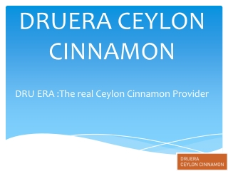 Where To Find Ceylon Cinnamon Products ?