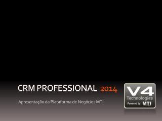 CRM Professional 2014