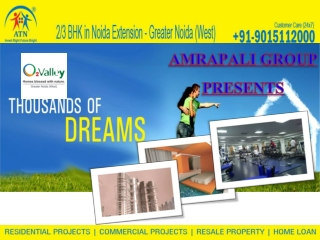 Living With luxury amrapali o2 valley apartments