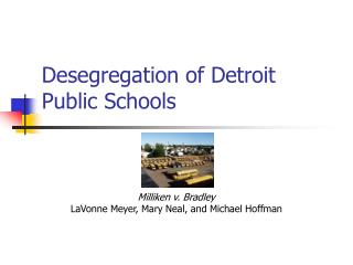 Desegregation of Detroit Public Schools