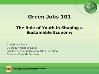 Green Jobs 101 The Role of Youth in Shaping a Sustainable Economy
