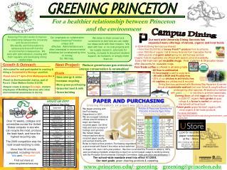 www.princeton.edu/~greening greening@princeton.edu