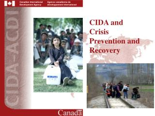 CIDA and Crisis Prevention and Recovery