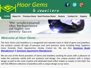 Gemstone Manfucaturer